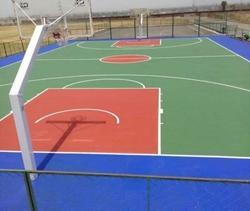 Basketball Synthetic Court  Flooring