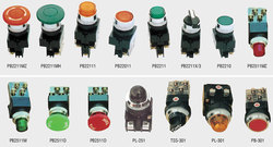 Legrand and Omron Switches and Push Buttons