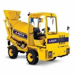Ajax ARGO 1000 Self Loading Concrete Mixers, For Construction, Drum Capacity: 1.7 cu m