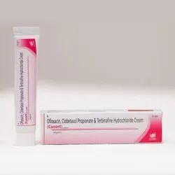 Ofloxacin Clobetasol Propionate and Terbinafine Hydrochloride Cream