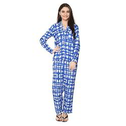 Girls Printed Night Suit
