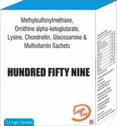 Methylsulfonylmethane Ornithine Alpha Ketoglutarate Lysine, Chondroitin, Glucosamine & Multivitamin