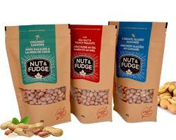 Nut and Fudge Packaging