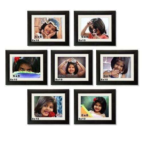 7 Pieces Multi Collage 8 By 10 Inch Decorative Picture Frame