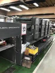 4 Colour Heidelberg SM-102V/P 534XXX 1992, For Paper Printing
