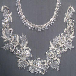 Neck Embroidery Work