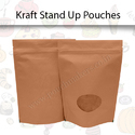 Kraft Stand Up Pouches