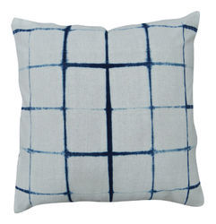 White and Blue Cotton Tye Dye Cushion Covers