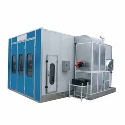 Commercial Vehicle Industries Paint Booth