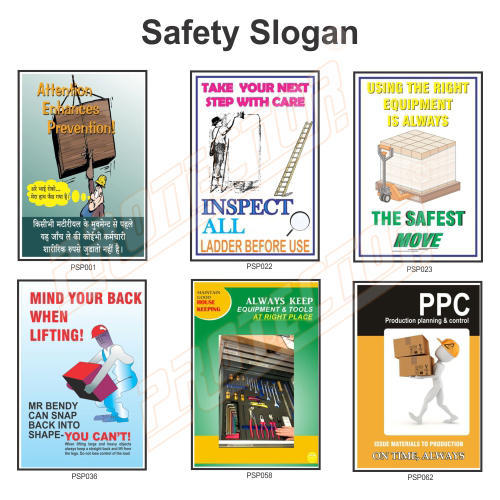 Safety Poster And Slogan