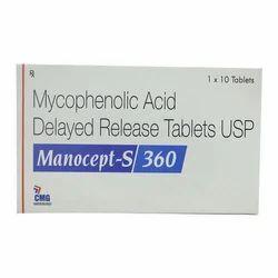 Mycophenolic Acid Delayed Release Tablets USP