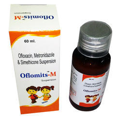 Ofloxacin Metronidazole & Simethicone Suspension