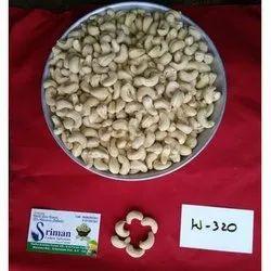 W320 Organic Cashew Nut, Packaging Size: 250 Gm to 20 Kg