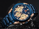 Top Brand Naviforce Luxury Watches Men Fashion Sport Quartz Watches Nf9113/.available In 5 Colors