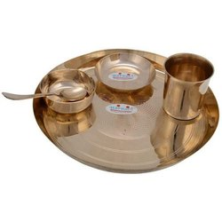 Brass Utensils, For Home, Packaging Type: Box