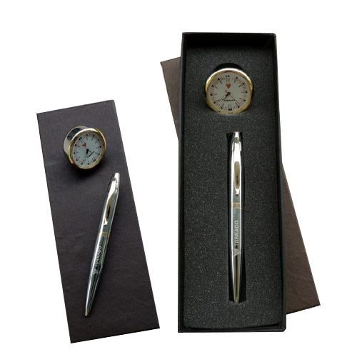 Gift Set With Clock
