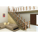 Floor Mounted Staircase Railings