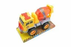 Multicolor Plastic Friction Truck Toy, For School/Play School
