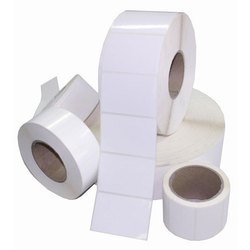Paper White Custom Stickers, Packaging Type: Roll