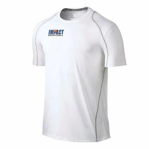 ad0acbf698e74 White Trunk Dry Fit Mens Cotton T-Shirt, Rs 155 /piece, Manav ...