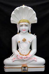 Lord Parasnath White Marble Statue
