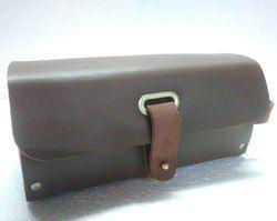 Vintage Leather Wash Bag
