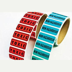 Chemical Resistant Labels