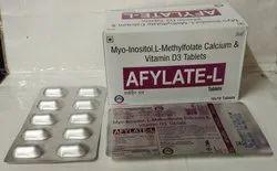 Myo-Inositol 1 Gm , L-Methylfolate Calcium 100 MCG , Vitamin D3 25 MCG