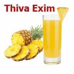 Thiva Exim Yellow to Olive Yellow Pineapple Puree / Juice, Packaging Size: 220 Kg