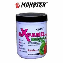 Monster Strawberry BCAA Dietary Supplement, Packaging Type: Plastic Container