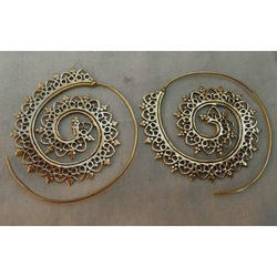 Designer Spiral Earrings