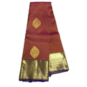 Party Wear Ladies Pure Silk Saree, 8 Mtr With Blouse, With Blouse Piece