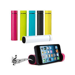 Power Bank With Built-in Speakers 4000 mAh