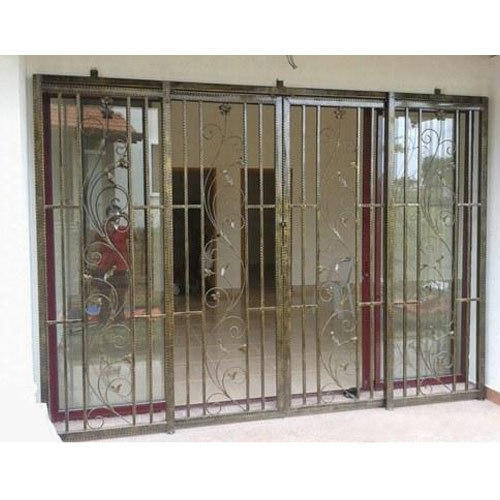 Wrought Iron Grill For Window 8