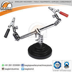 Third Hand Tool Double Clamp with Alligator Clips Jewellery