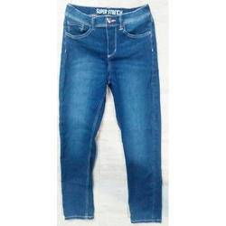 Stretchable Girls Jeans, 14 To 21 Years