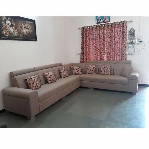 Light Brown Fancy Sofa