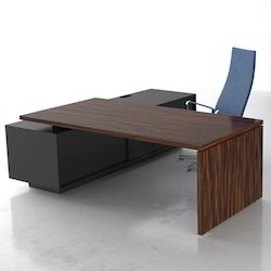 Wooden Rectangular Office Table
