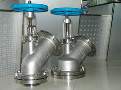 Flanged End Jacketed Flush Bottom Valve