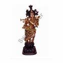 Brass Krishna Idol