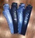 Men Stylish Rugged Jeans
