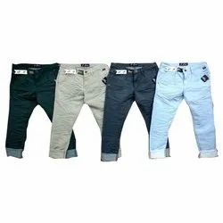 Mens Plain Casual Denim Pants, 28-36