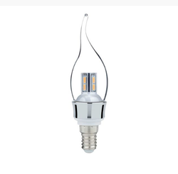 Syska Dimmable Glass Candle Bulb