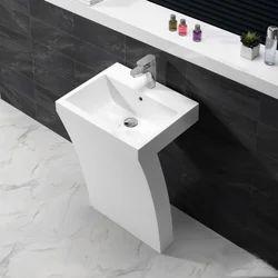 Ceramic Plain Italian Design Wash Basin, Shape: Rectangular
