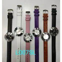 Newleaf Leather Womens Waterproof Wrist Watch, Model: L007sl