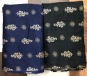 44 inch Rayon Gold Printed Garment Fabric