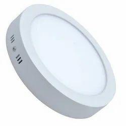 Cool White Round LED Panel Light