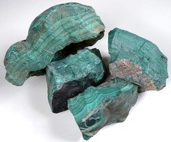 Natural Malachite Rough Stones