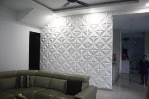 Pvc Multiple 3d Wall Panel Rs 2800, Wall Panels For Living Room India