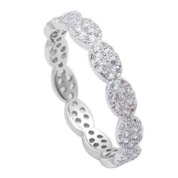 Silver Ladies Finger Ring
